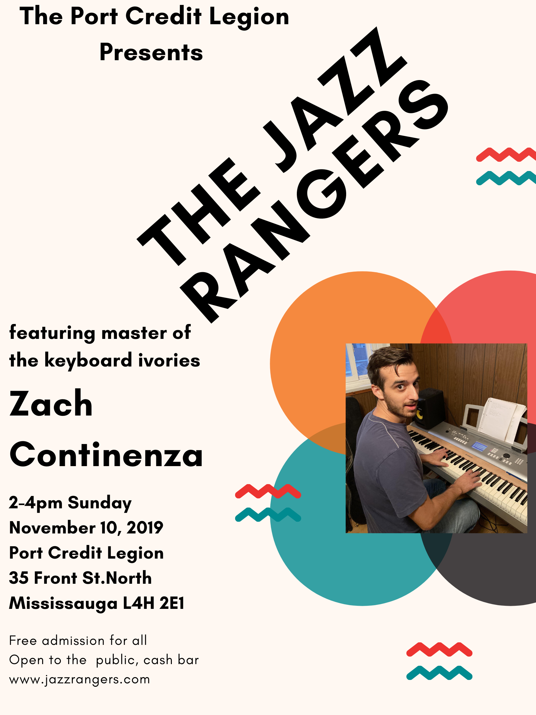 Jazz Rangers & Zach 3 20191110